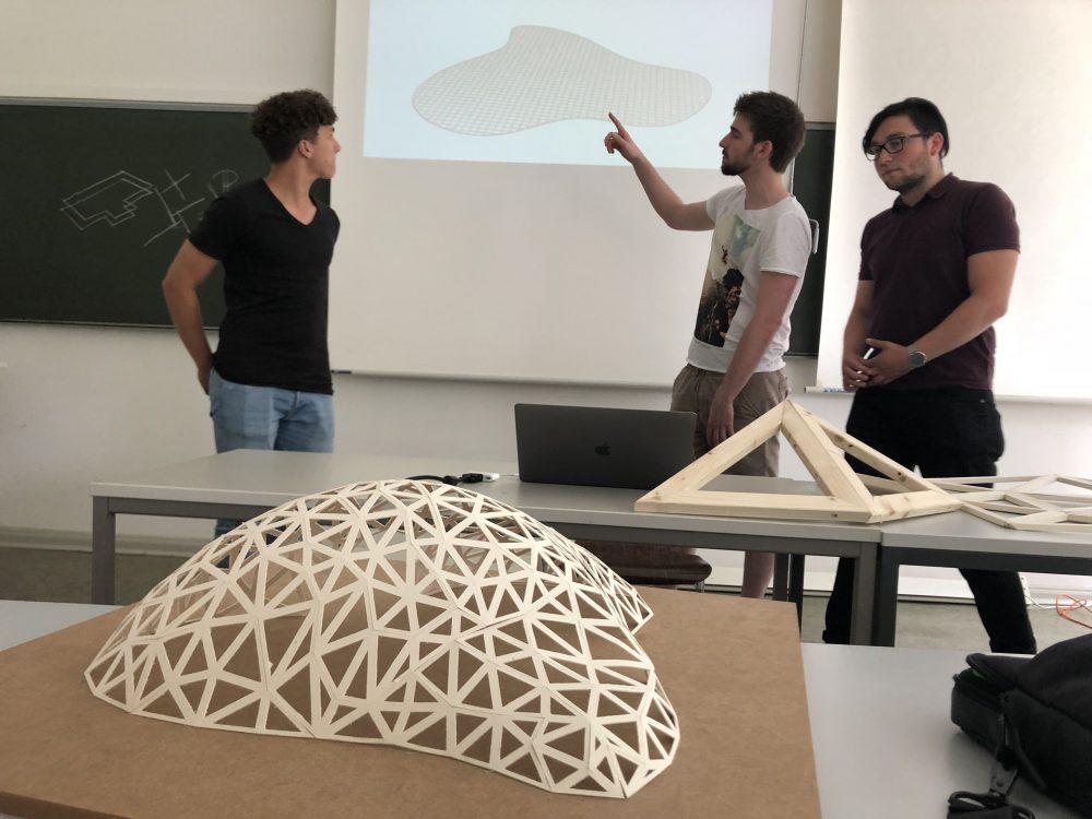DH1 Pavilion 2018, Luca Michels, Philip Becker, Manuel Scheib