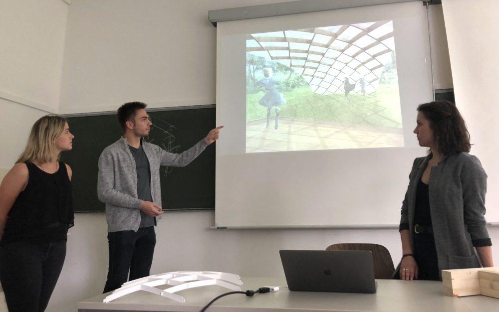 DH1 Pavilion 2018, Julian Lengert, Antonia Wern, Anna Hugot, Pascal Lange