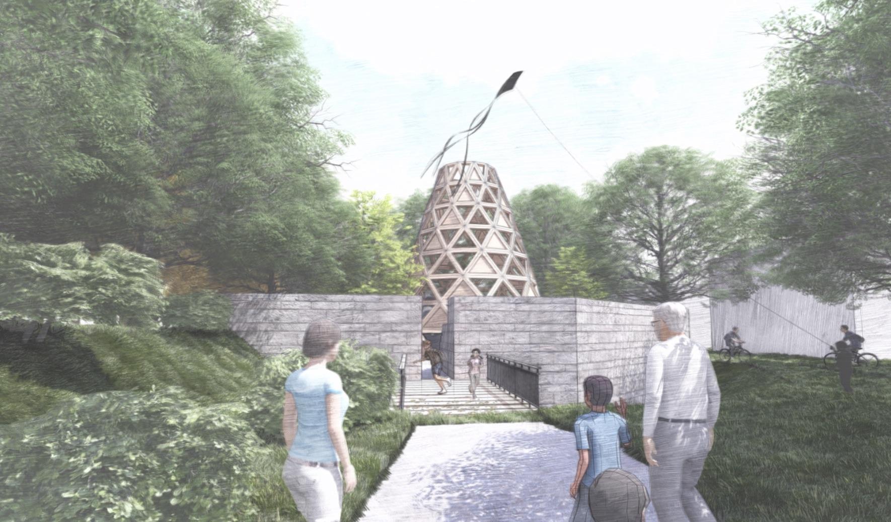 """Tobias Kübler, DTC Architecture Studio SS19 """"Lunette41"""""""